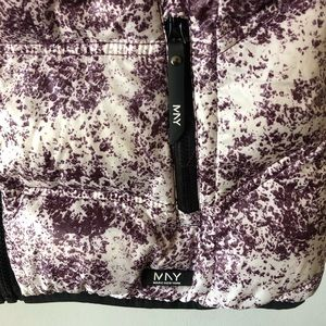 Andrew Marc Jackets & Coats - Andrew Marc NY  Purple Ombré Splatter Vest